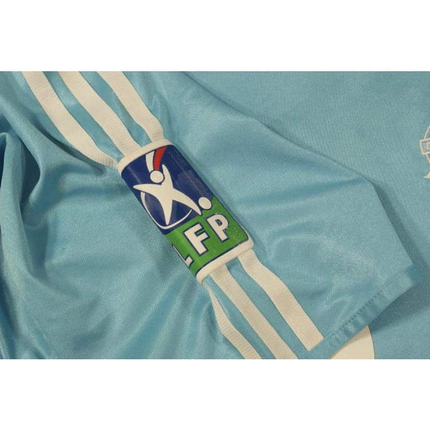 2003-2004 Olympique Marseille classic football shirt  #9 VANROYEN