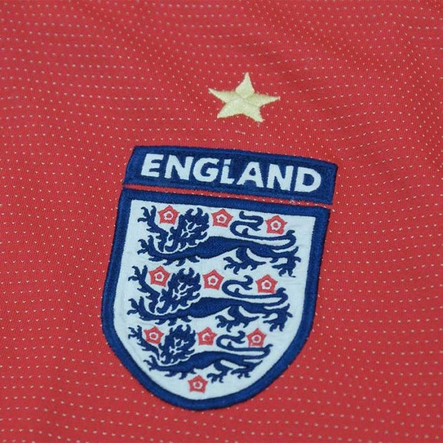 2004-2006 England vintage football shirt #6 Oliver