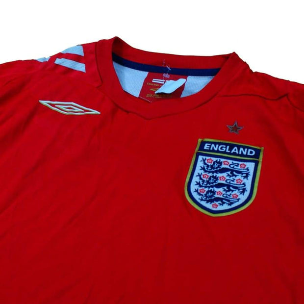 2006-2008 England vintage football shirt away