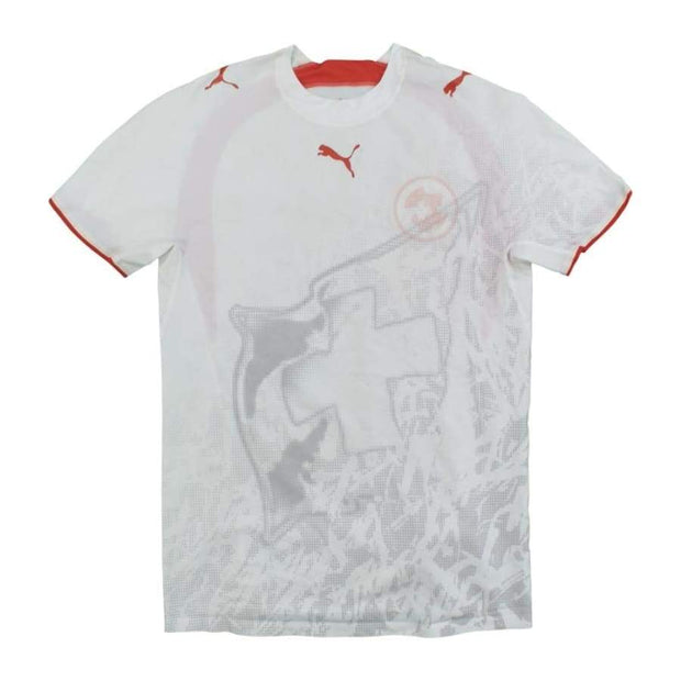 Switzerland vintage football shirt