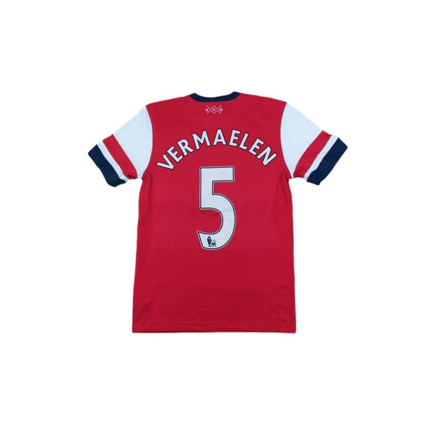 Maillot de football rétro domicile Arsenal FC N°5 VERMALEN 2012-2013 - Nike - Arsenal