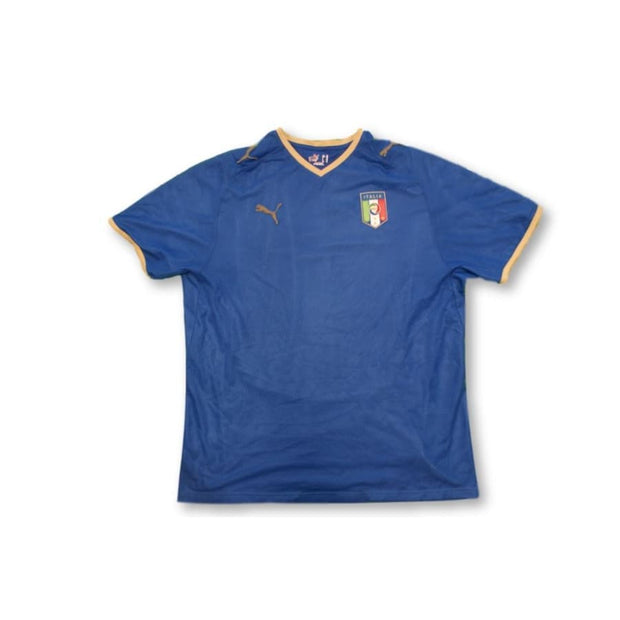 2008-2009 Italy home classic football shirt