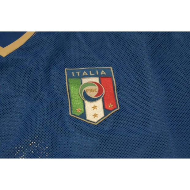 2008-2009 Italy home vintage football shirt #10 DEL PIERO