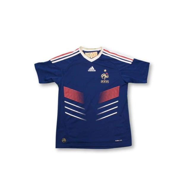 2010-2011 France home classic football shirt