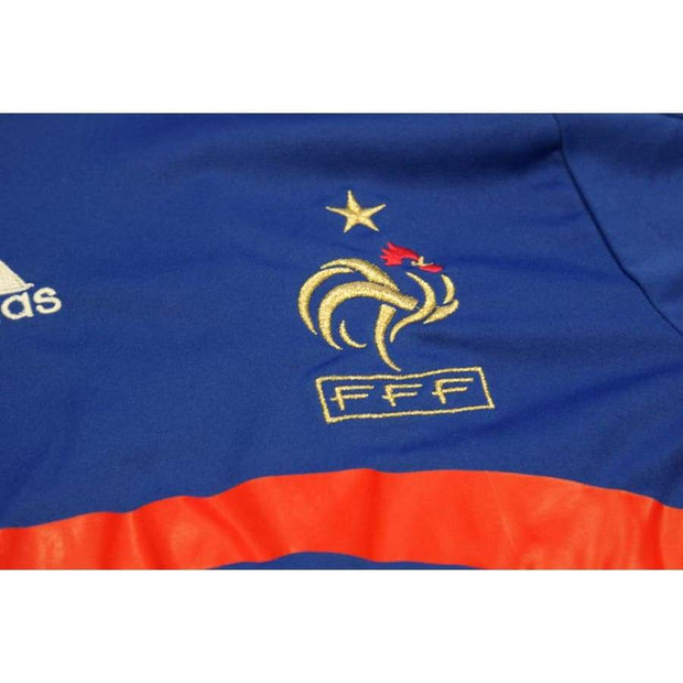 2008-2009 France home classic football shirt #39 ANELKA