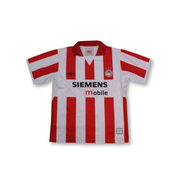 2004-2005 Olympiakos home classic football shirt #6