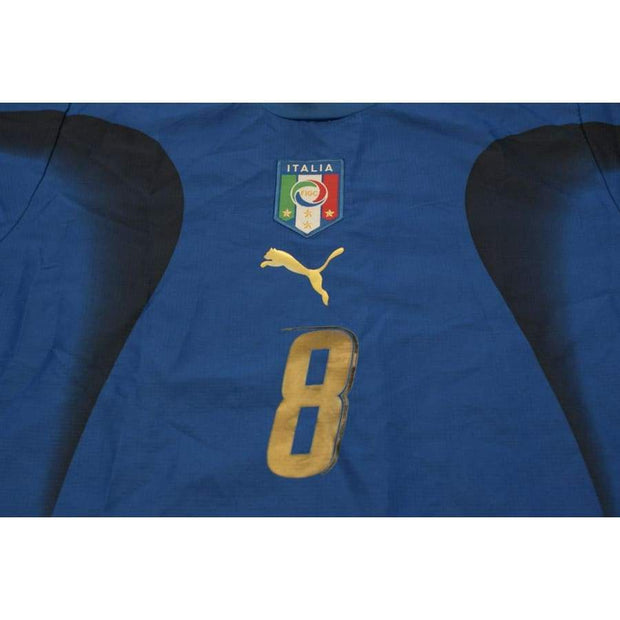 2006-2007 Italy vintage football shirt #8 GATTUSO