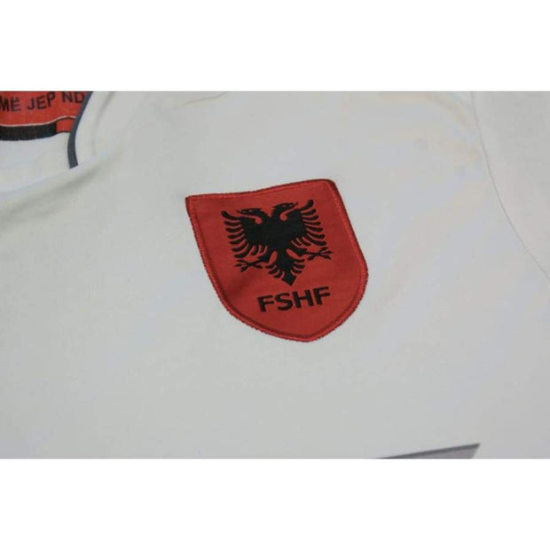2016-2017 Albania away classic football shirt #9 ARDIAN
