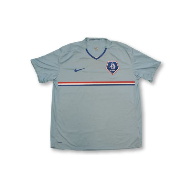 2008-2009 Netherlands away classic football shirt