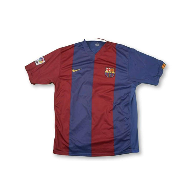 2006-2007 FC Barcelona vintage football shirt #11 ZAMBROTTA