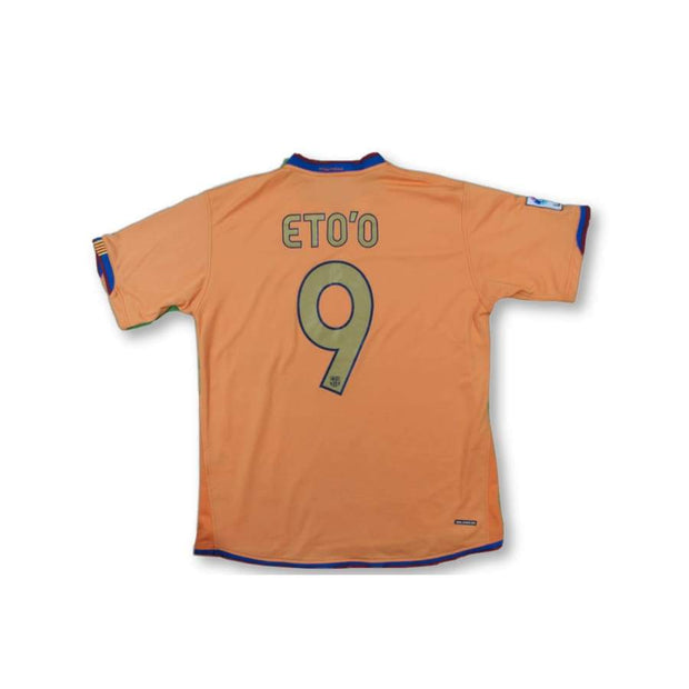 2006-2007 FC Barcelona vintage football shirt #9 ETO'O