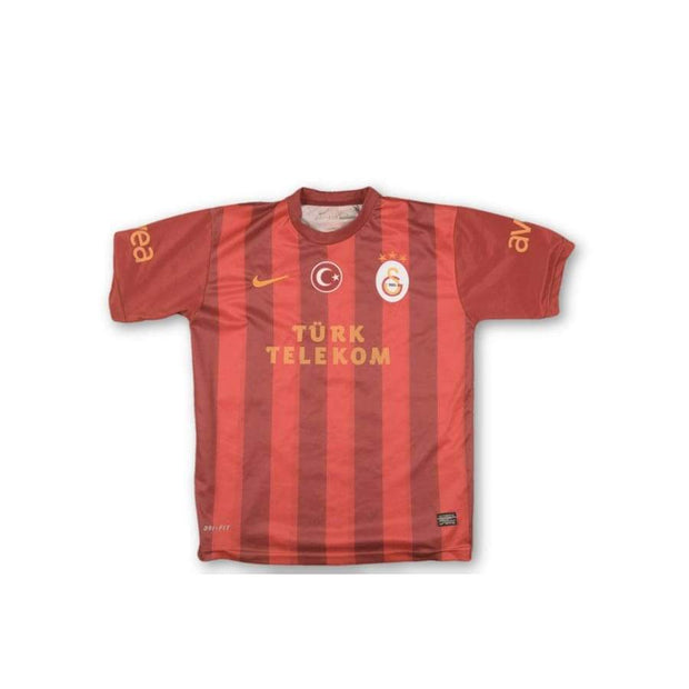 2013-2014 Galatasaray vintage football shirt #17 BURAK