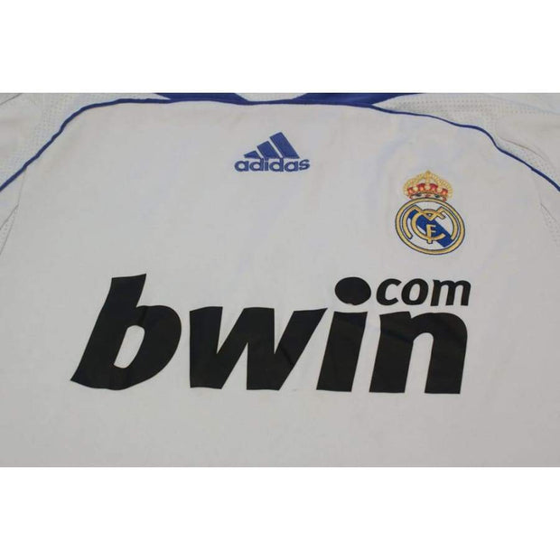 2007-2008 Real Madrid vintage football shirt