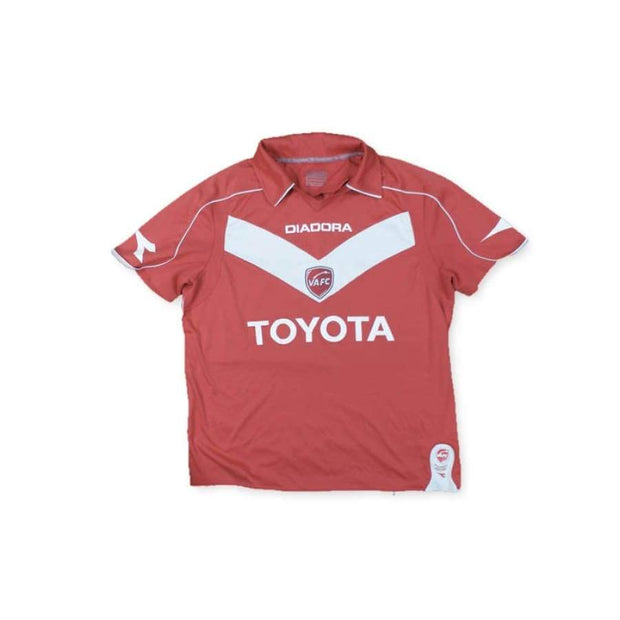 2008-2009 Valenciennes FC vintage football shirt  TOYOTA