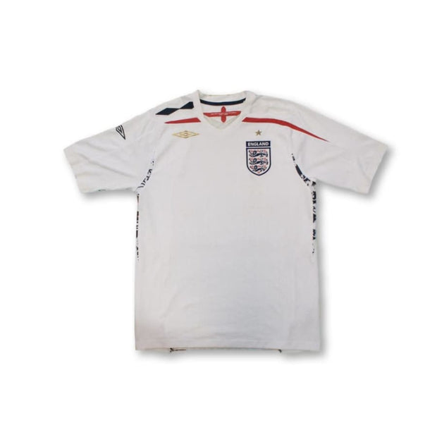 2007-2008 England home vintage football shirt