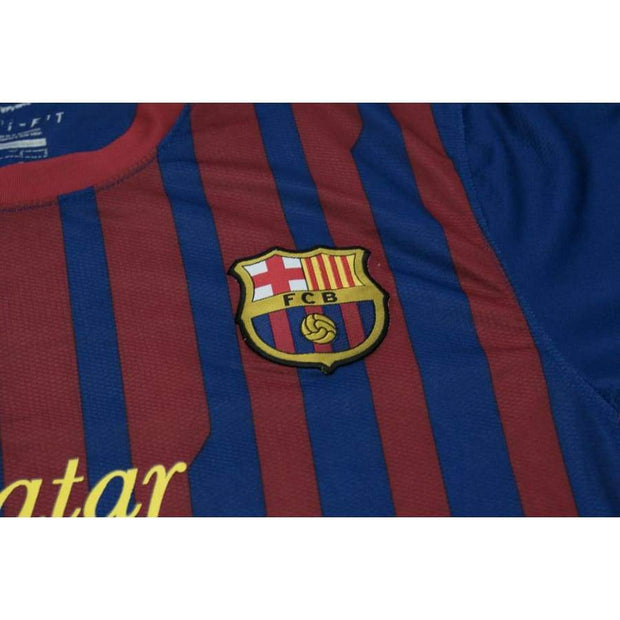 2011-2012 FC Barcelona home classic football shirt #4 FABREGAS