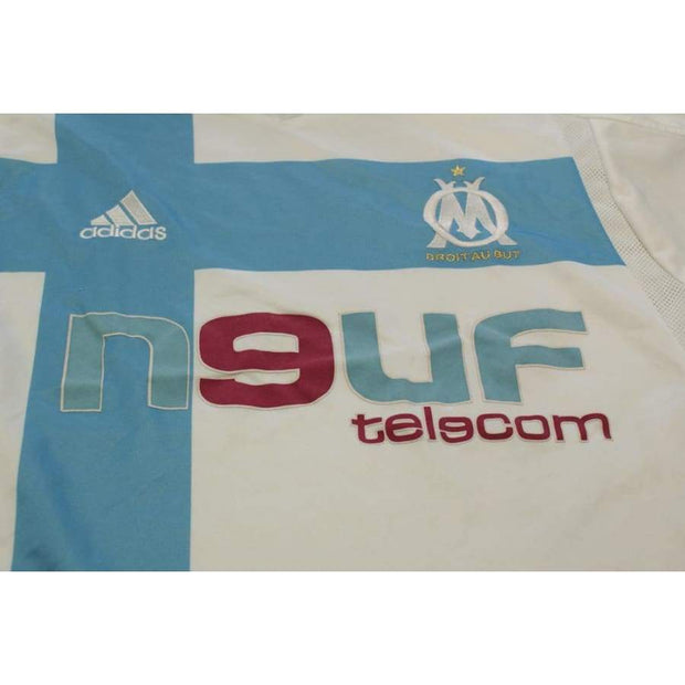 2004-2005 Olympique Marseille home classic football shirt