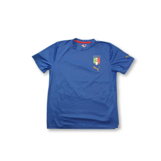2010s Italy training vintage football shirt