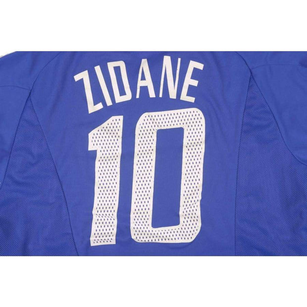 2002-2003 France vintage football shirt #10 ZIDANE