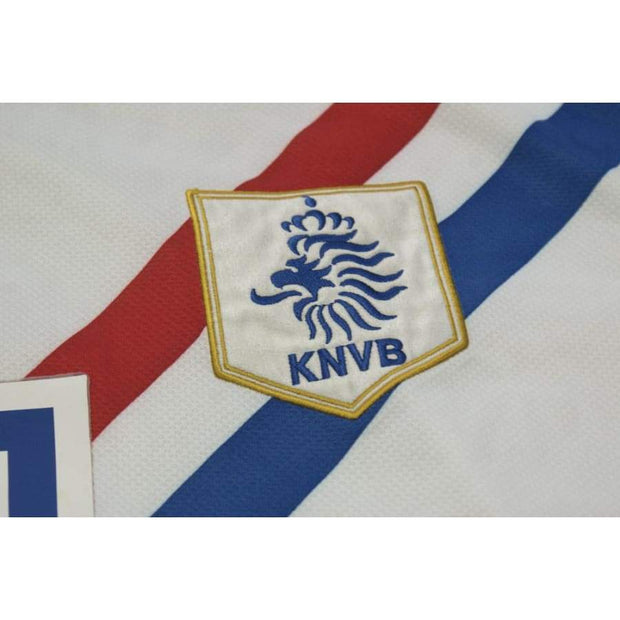 2006-2007 Netherlands away vintage football shirt #10 VAN DER VAART