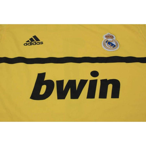 2011-2012 Real Madrid CF goalkeeper vintage football shirt #1 CASILLAS