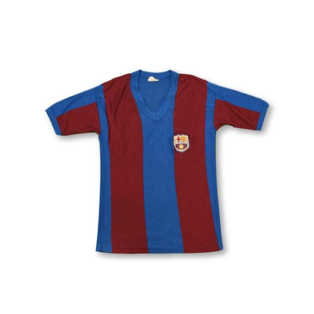 FC Barcelona fan retro football sweat