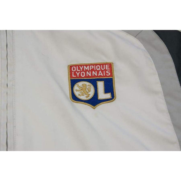 2000s Olympique Lyonnais retro football jacket