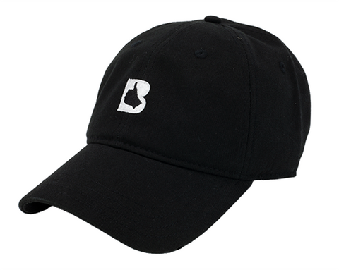 Black Thumbs Up Dad Hat