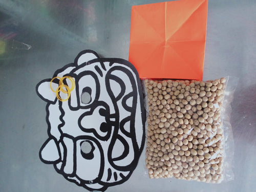 184 Wed -Mask and Roasted soybeans (200g)