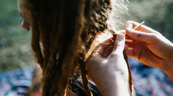 Dreadlock Maintenance - How to use a Crochet Hook