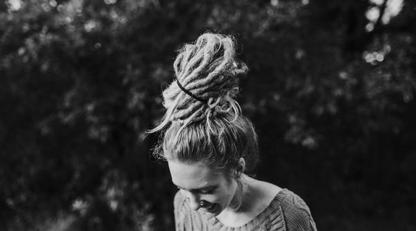Simple Dread Bun Tutorial