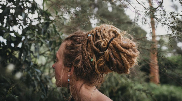 Elegant Dread Bun Tutorial