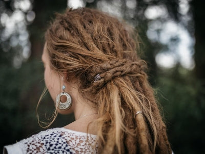 Easy no Dread tie Hairstyles