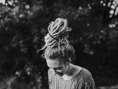 Easy Dread Bun