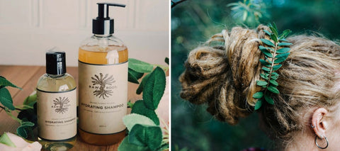 Raw Roots Hydrating Shampoo from Mountain Dreads