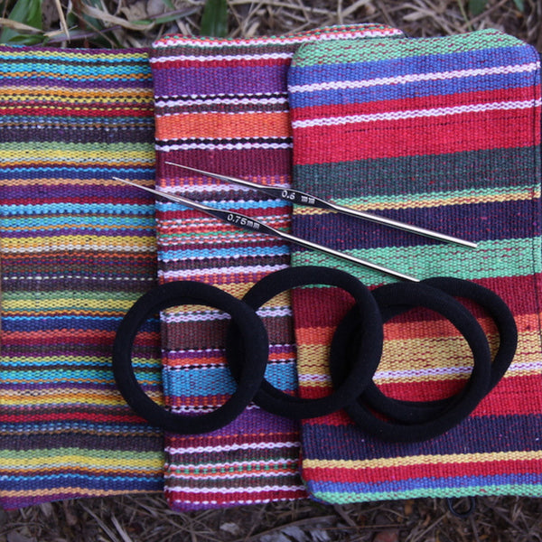 Dread Pack | Cotton Zipper Pouch