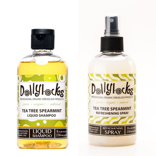 Dollylocks Tea Tree Spearmint Shampoo + Refreshing Spray