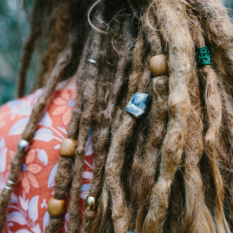 Coral Reef Dreadlock Beads | Set Of 30