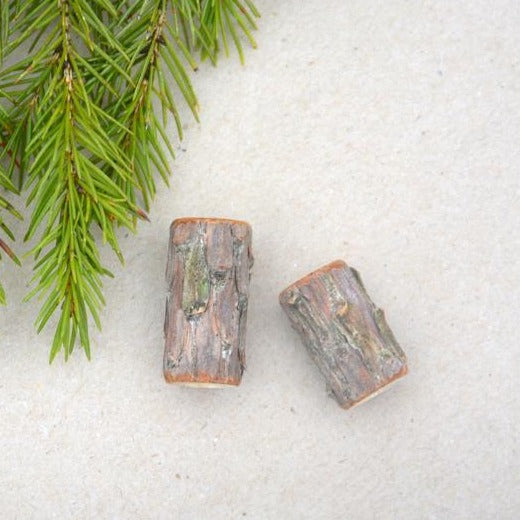 Handmade Forest Dread Beads | Set Of 2