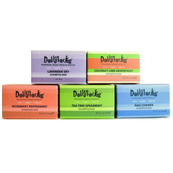 Dollylocks Shampoo Bar Travel Size Sampler Set