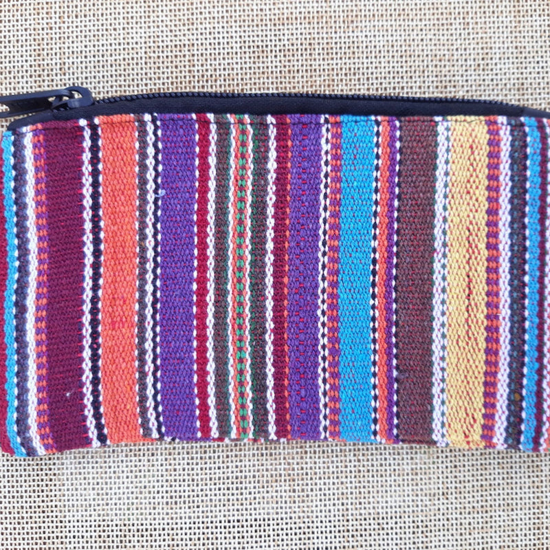 Cotton Zipper Pouch
