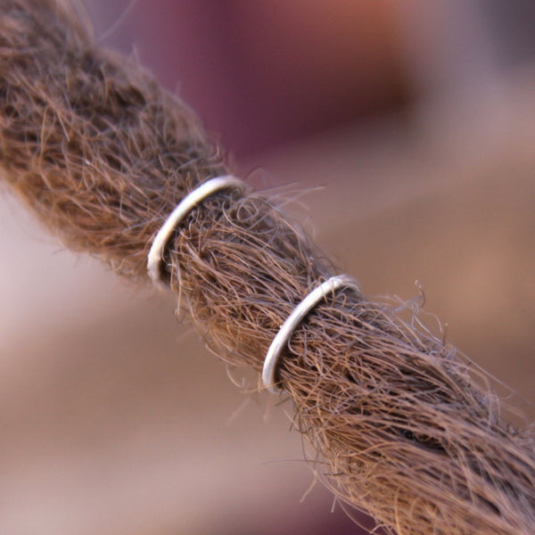 Sterling Silver Dread Rings
