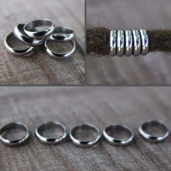 Dreadlock Rings | Set Of 10