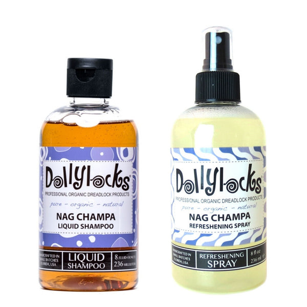 Dollylocks Nag Champa Shampoo + Refreshing Spray