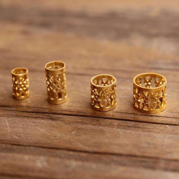 Gold Filigree Cuffs | Set Of 30