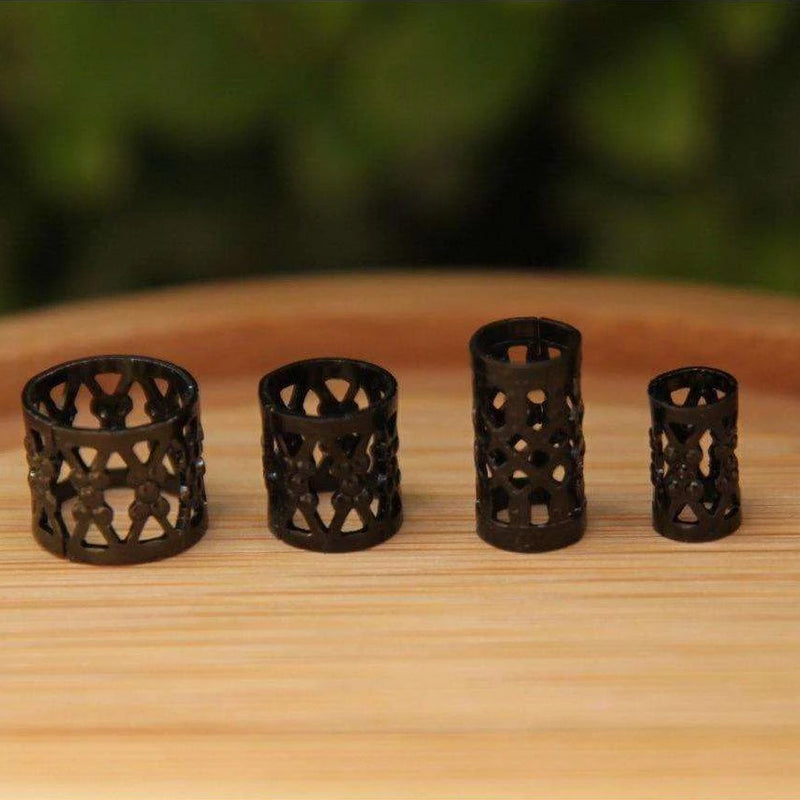 Black Filigree Cuffs | Set Of 30