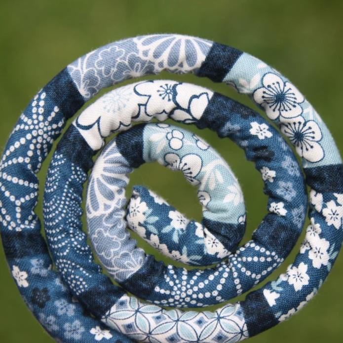 Indigo Blue Vegan Spiralocks - EXCLUSIVE