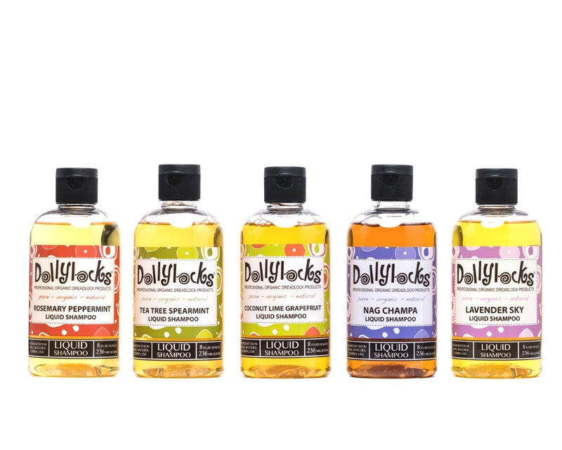 Dollylocks Liquid Shampoo 5 Bottles