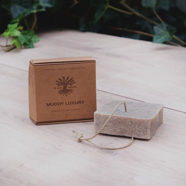 Raw Roots Shampoo Bar - Muddy Luxury