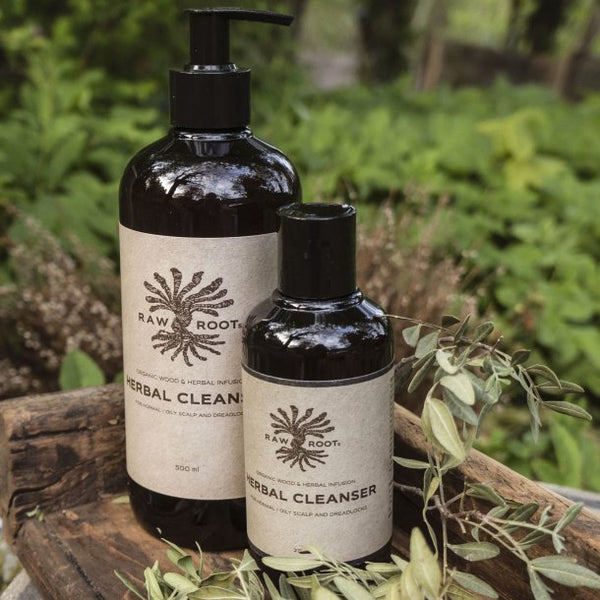 Raw Roots Herbal Cleanser Shampoo